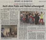 Auch ohne Putin und Merkel schwungvoll - Dorstener Zeitung
