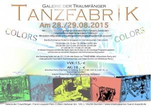 Tanzfabrik 2015 Foto