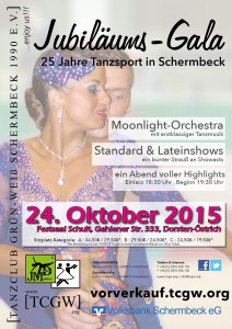 Jubiläums-Gala 24.10.15 Flyer